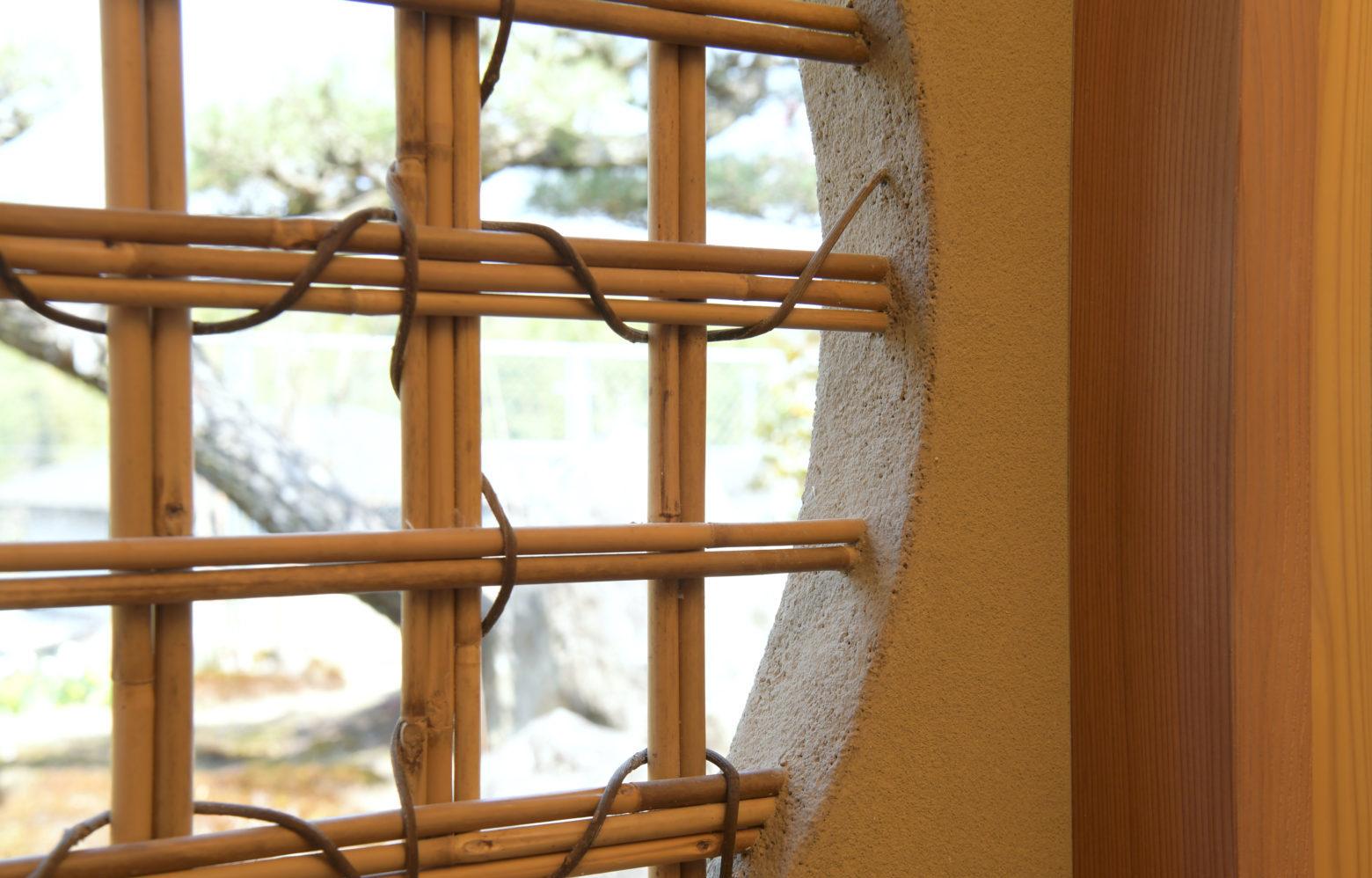 連子窓・下地窓【茶室】